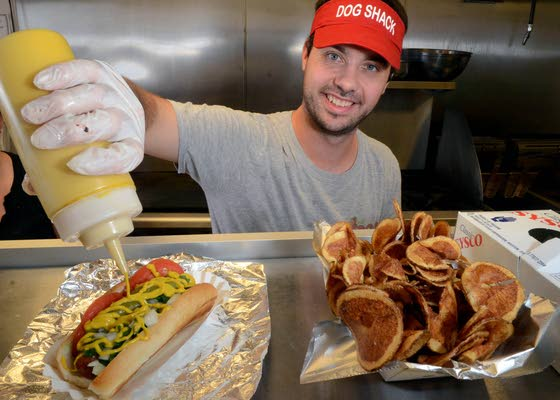 The Dog Shack gives the Ocean City Boardwalk creative hot dogs