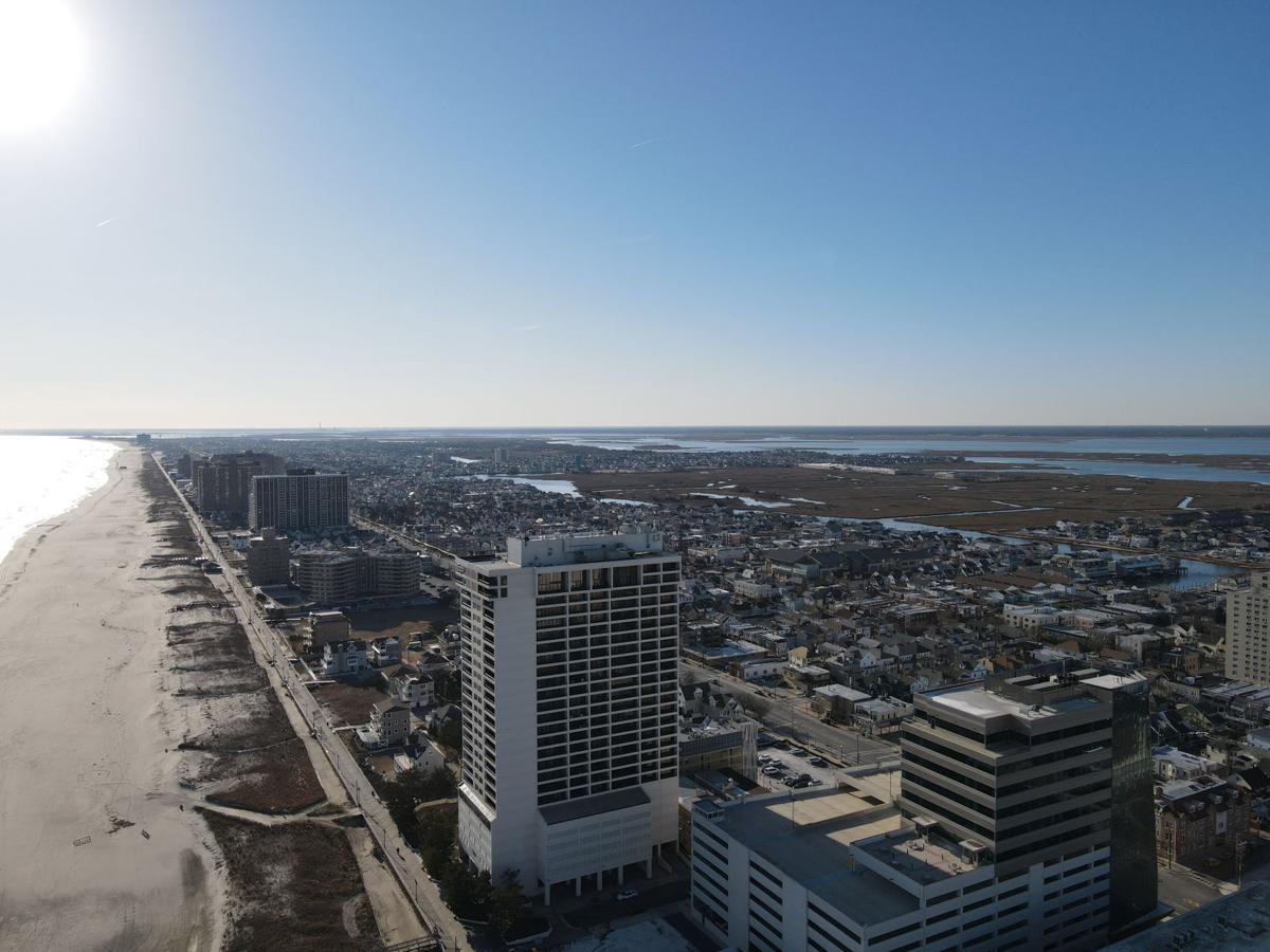 Atlantic City Drone Photos on Sunny, Winter Day