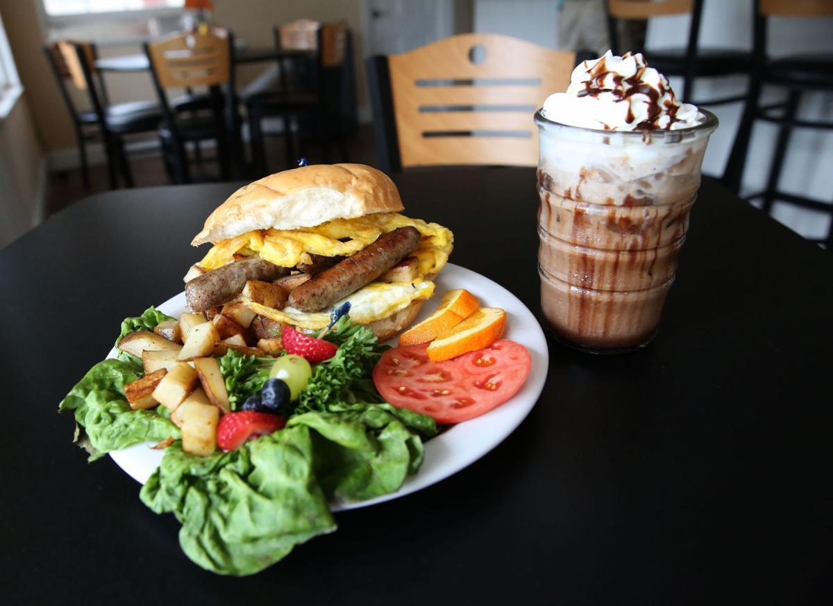 Cracked Egg Cafe Menu