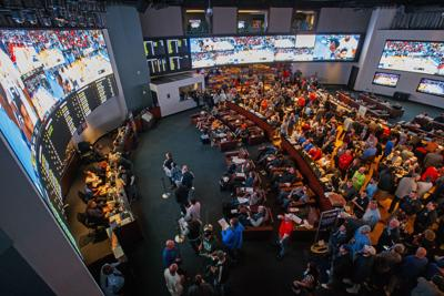 Atlantic City sportsbooks 'buzzing' during first March Madness