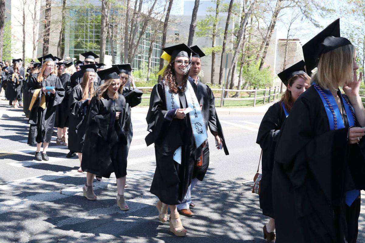 Stockton's graduate commencement