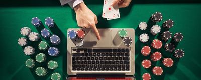 Why online gambling gives players more control