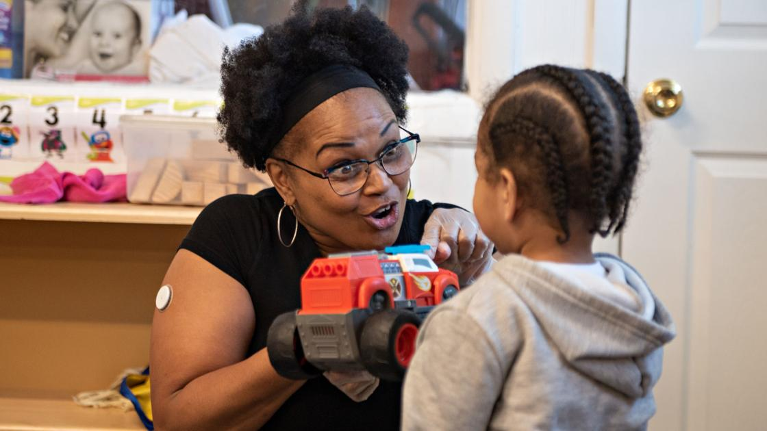 Open centers providing child care and peace of mind for essential employees