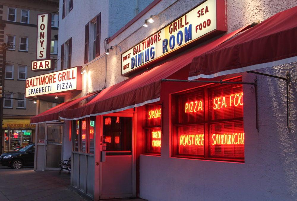Tony's Grill Menu