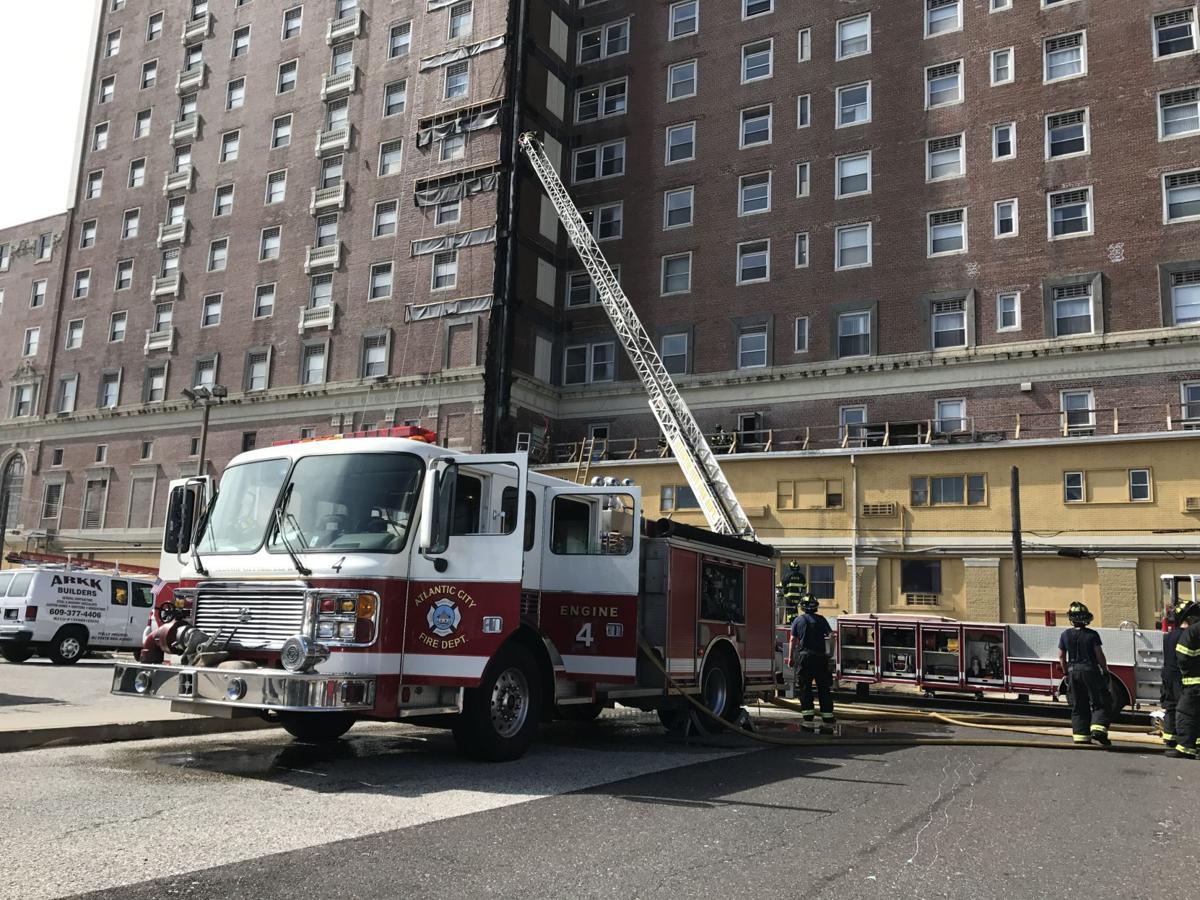 Crews respond to fire at Atlantic City condo