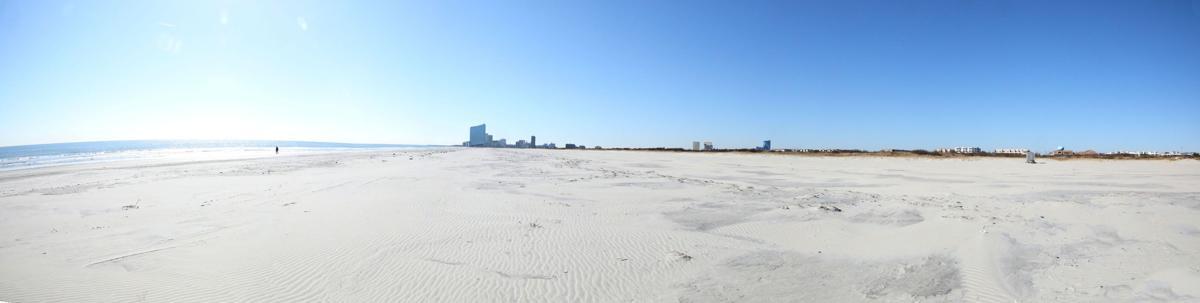 Coastal Research: 43rd Street Beach in Brigantine has grown by 850 feet in 30 years