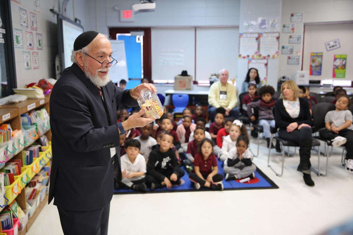 Leeds Avenue School as part of the Holocaust education curriculum March 3, 2020.