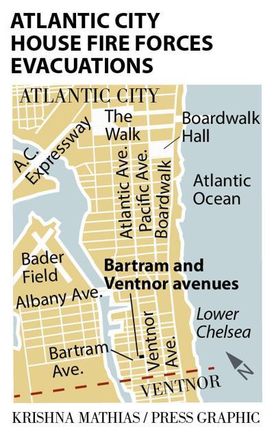Atlantic City Lower Chelsea house fire map 9-8-2016