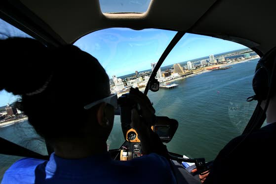 Helicopter tours of Atlantic City