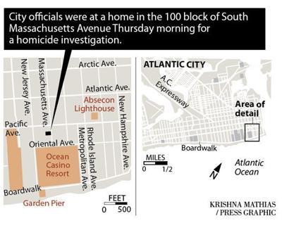 Homicide Atlantic City map 7-25-2019