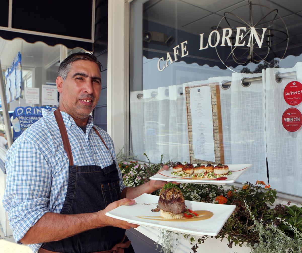 A fresh flair on fine dining — Avalon\'s Cafe Loren | Dining ...