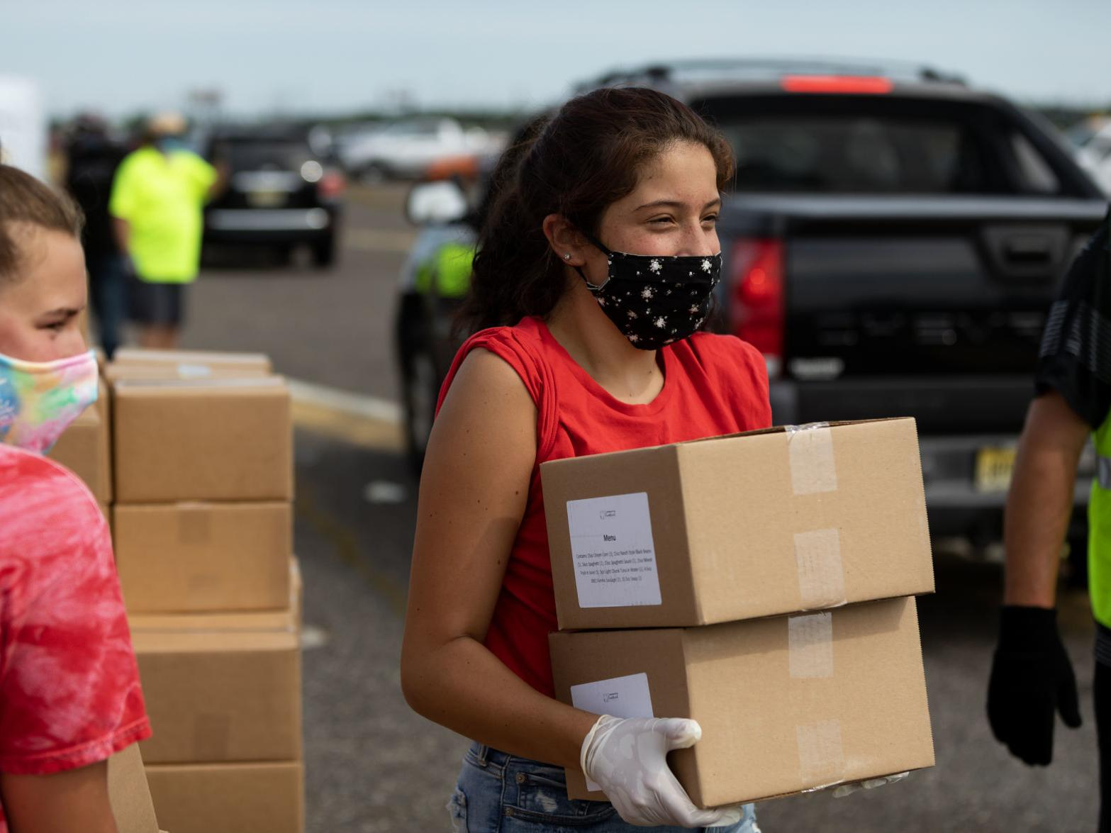 Food Drive At Bader Field Feeds Thousands Affected By Casino Closings Latest Headlines Pressofatlanticcity Com