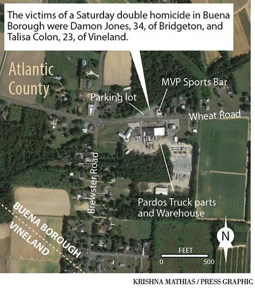 Buena Borough homicide map 9-2017