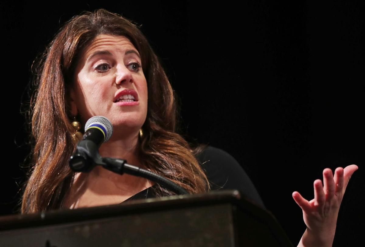 Monica Lewinsky speaks at the 26th Annual Women's Forum