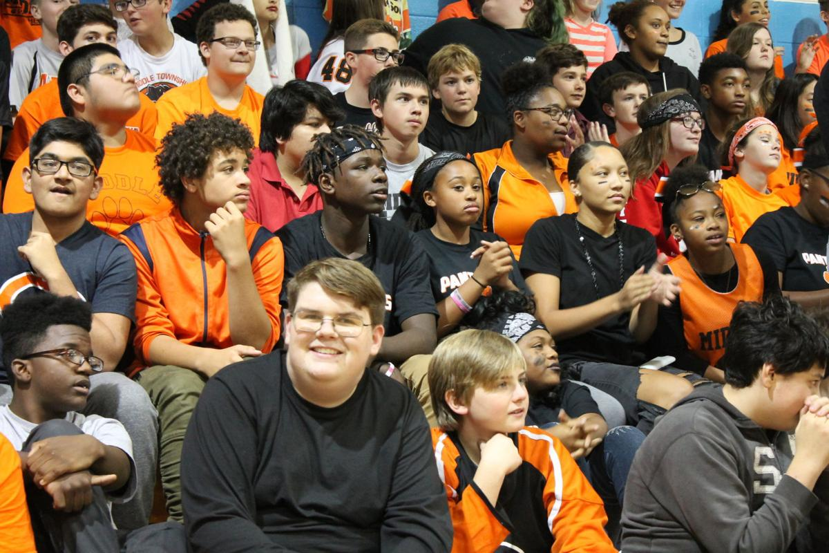 c0f2b96787 Pep rally at Middle Township Middle School brings together cops and ...