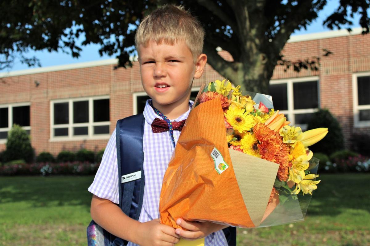 OC 1st Day of School Misha