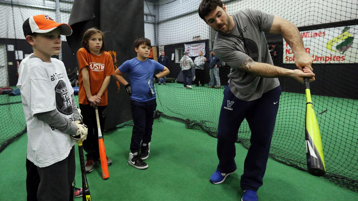 Matt Szczur Baseball Clinic