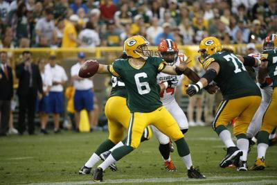 Spirit grad Callahan fills in nicely for Packers' Rodgers