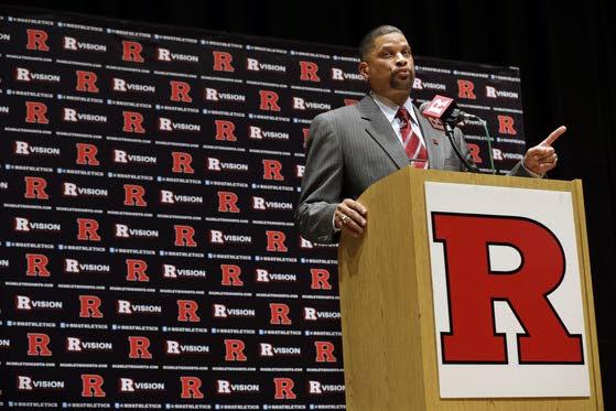 No down time for new Rutgers coach Eddie Jordan
