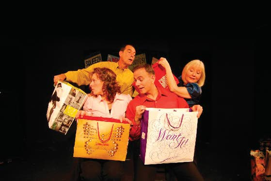 'Shopping' musical highlights events At The Shore Today