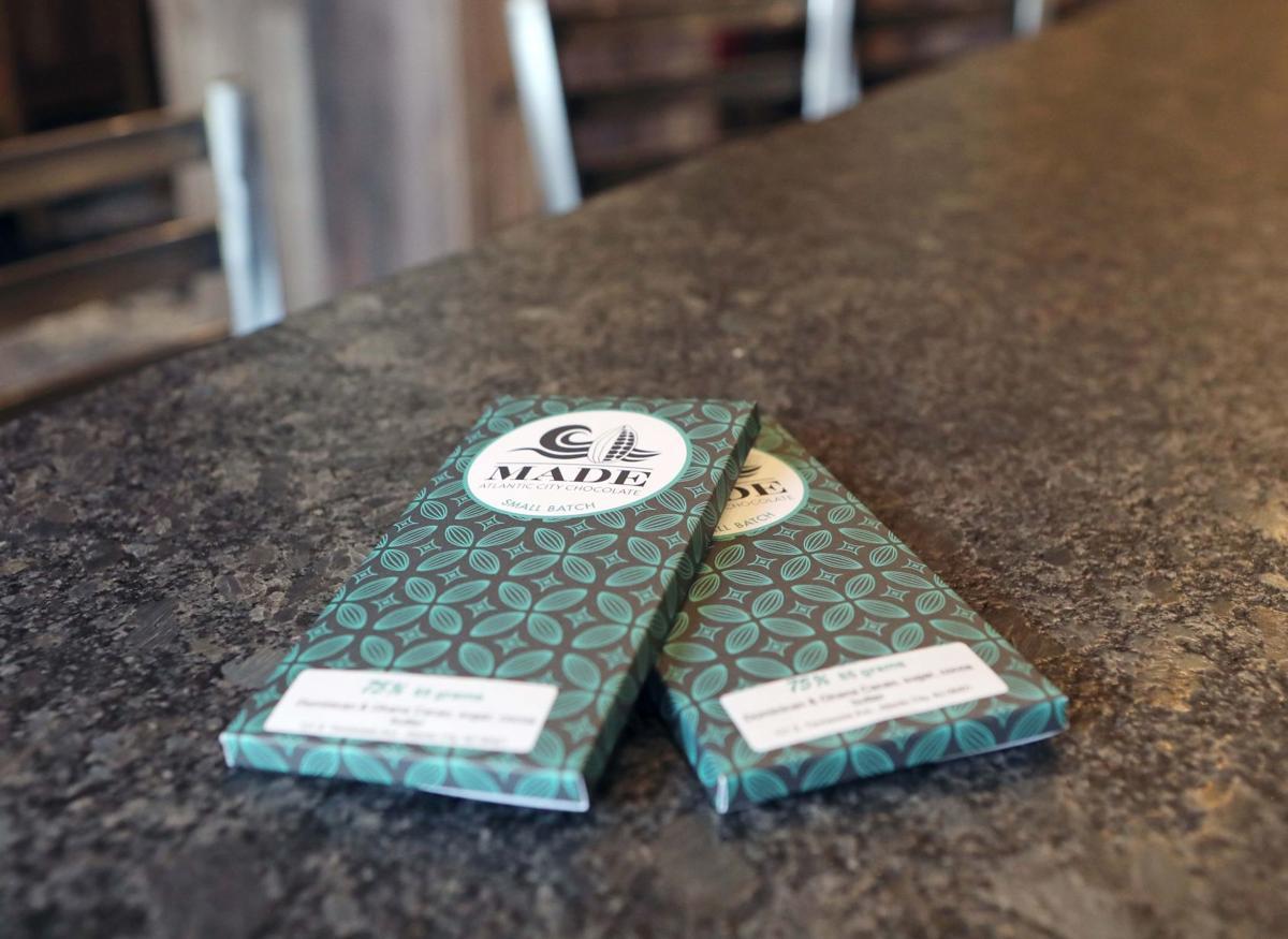 Deborah Pellegrino MADE Atlantic City Chocolate Bar