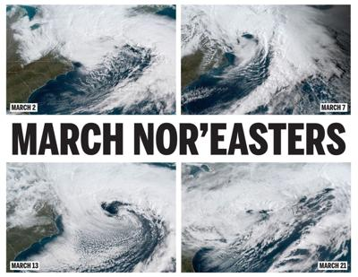 March nor'easters