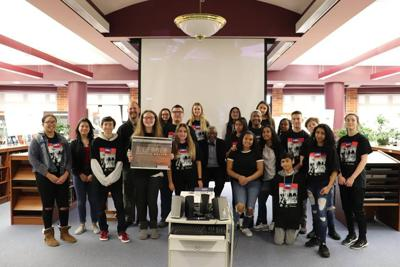 Galloway Township Middle School students