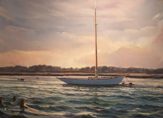 This Week in the Arts: Painter Kim Weiland displays ocean-inspired work in O.C.