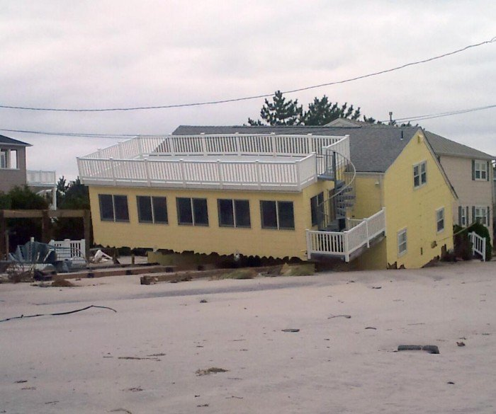 Beach Haven Resident Says Sandy Devastated Long Island