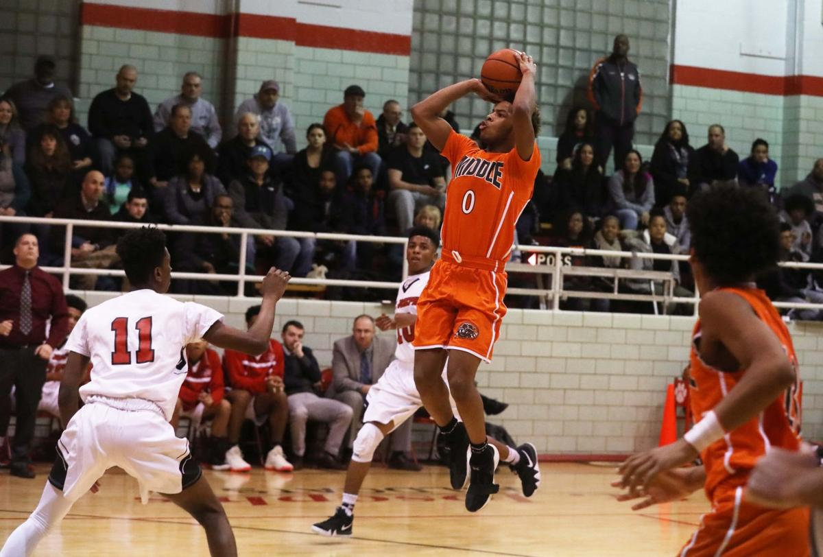 Middle Township at St. Joseph boys basketball