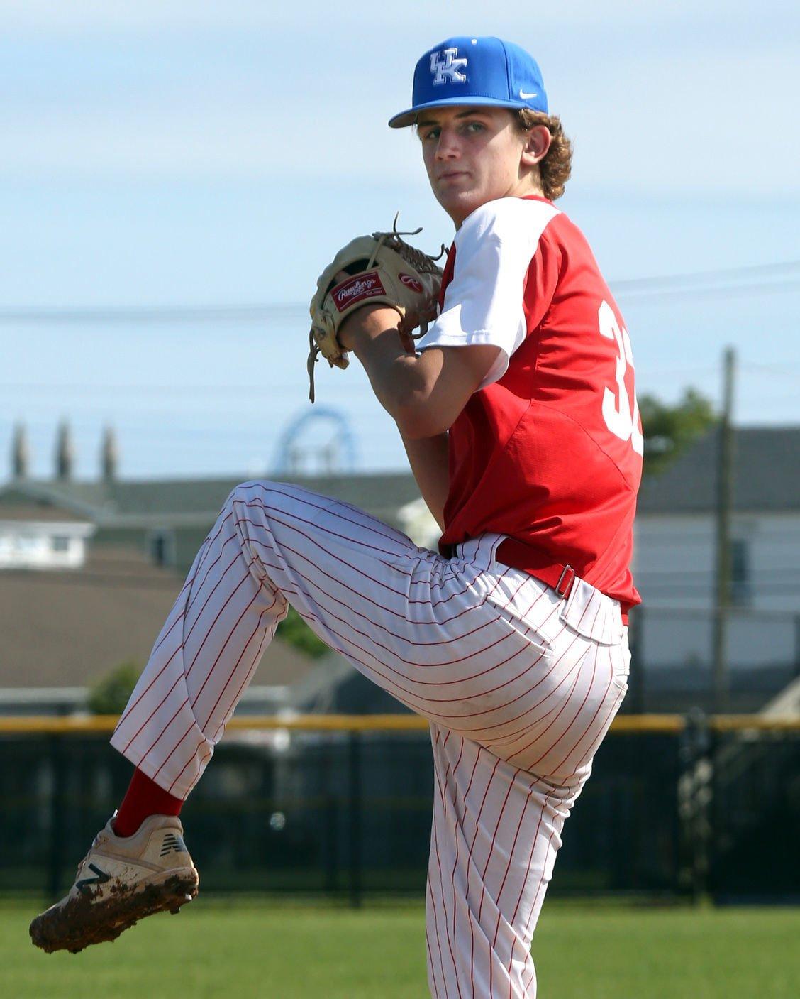 Ocean City pitcher Tom Finnegan