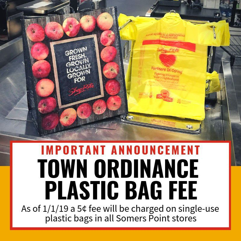 Shop Rite offers inexpensive reusable bags in preparation for bag fee