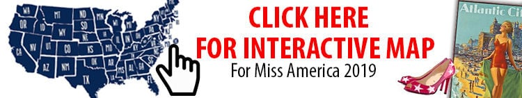 Miss America Contestants Interactive Map