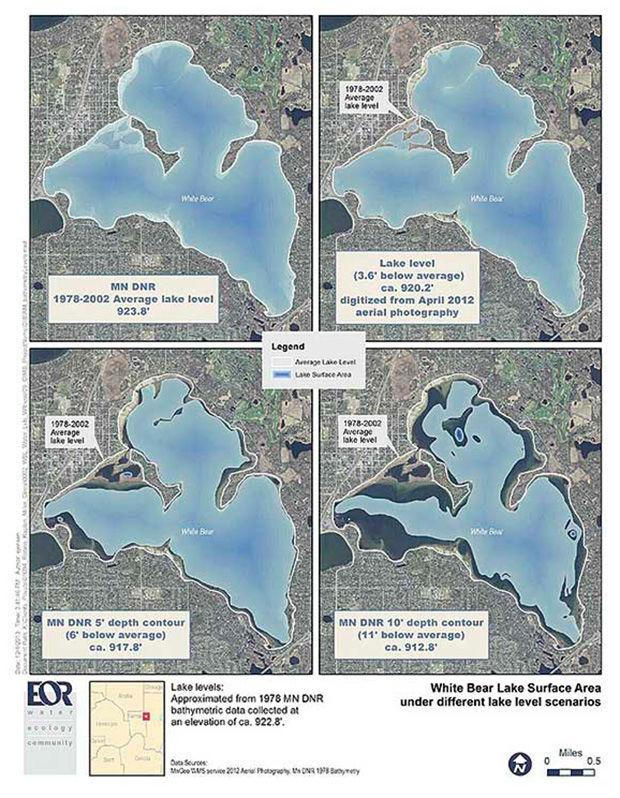 Experts tell court: Multiple factors impact White Bear Lake level ...