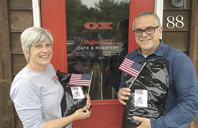 Area coffee shop donates to troops