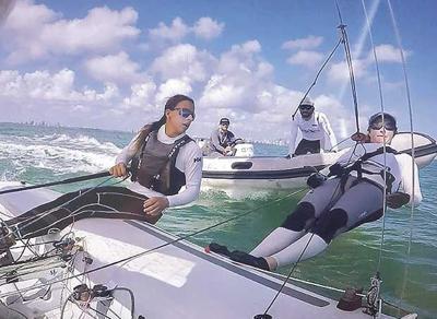Local sailor headed for Olympics
