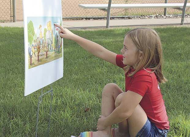 Kids Club heads outdoors