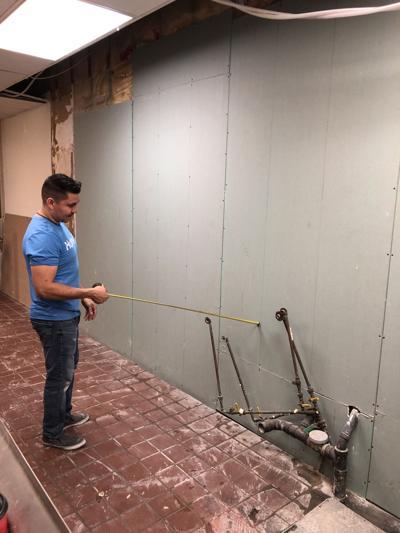 Don Julio's under construction