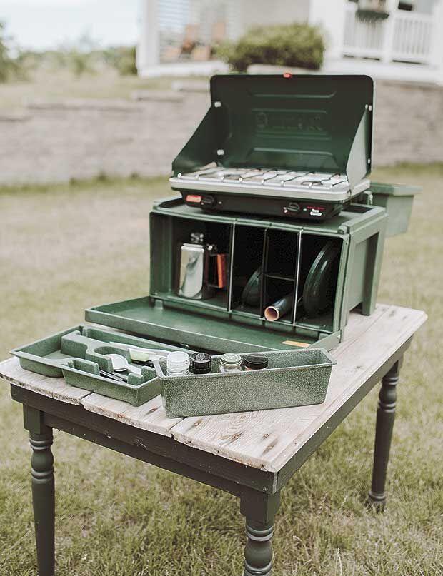 The Chuck Box Camp Kitchen: A slice of Minnesota