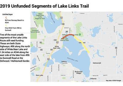 Legislators push for funding to complete Lake Links Trail