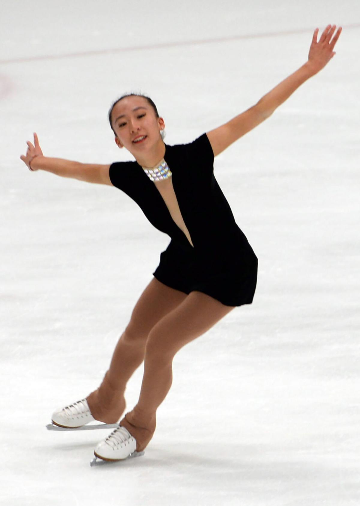 zhu skating