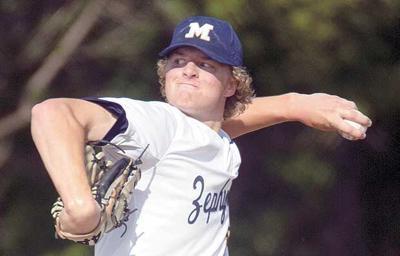 Baseball: Neubeck is conference MVP; five Zephyrs on all-MEC