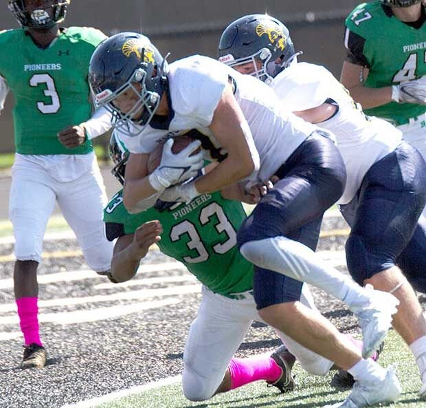 Blocked punt for TD helps Zephyrs trip Hill-Murray 28-14