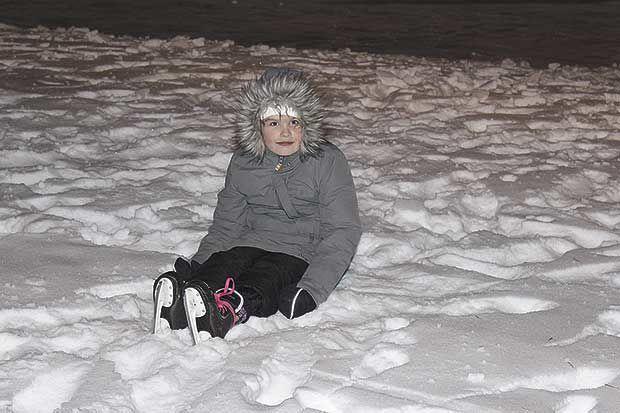 An evening of frigid fun
