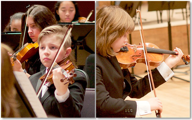 Students learn more than music through youth symphony
