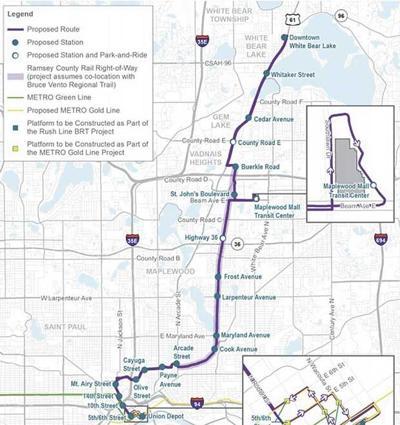 Purple Line bus project hits 'key milestone'