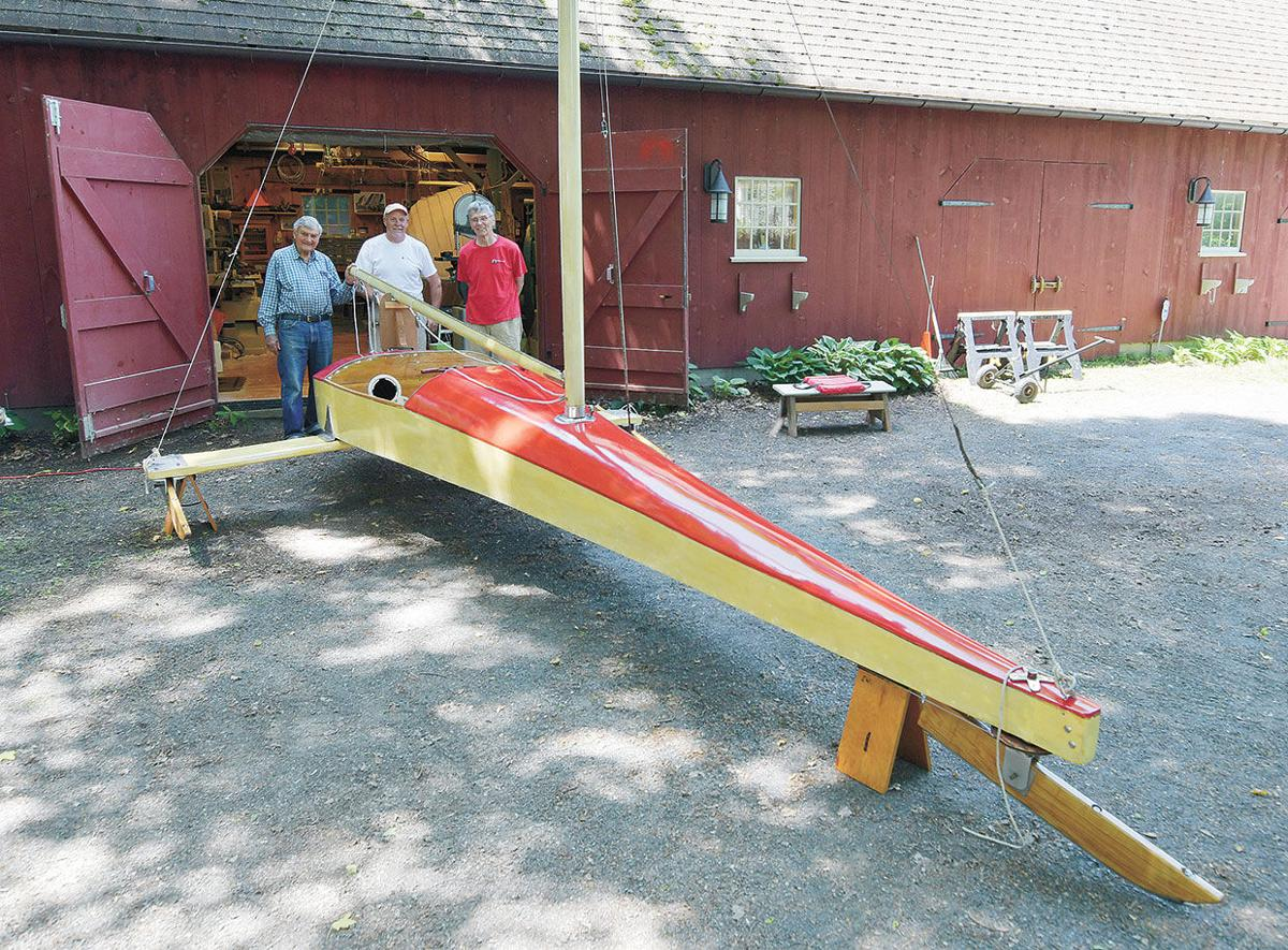 Old ice boats