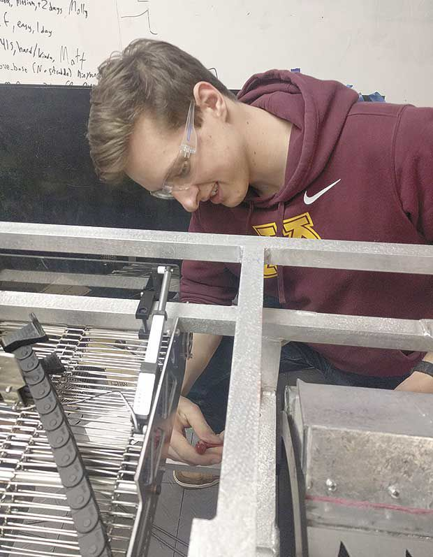 Centennial grad takes part in first Bot Shot competition