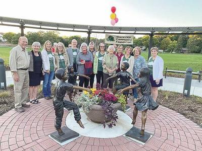 Friendship garden statue unveiled