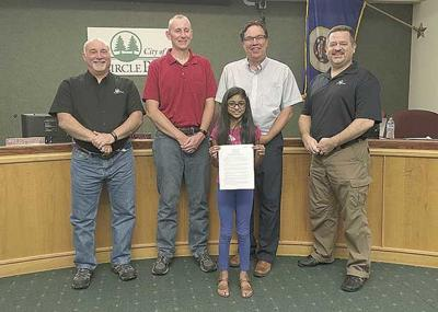 Local girl's letter initiates action to sustain environment